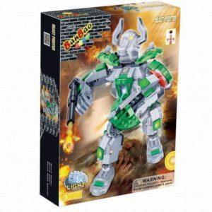 Конструктор «Электромеханический робот» (зеленый, со световыми эффектами)