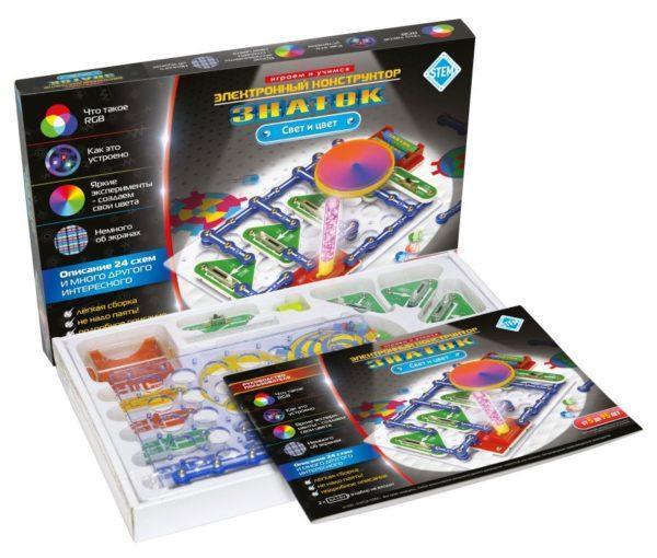 Конструктор электронный - Знаток - Свет и цвет