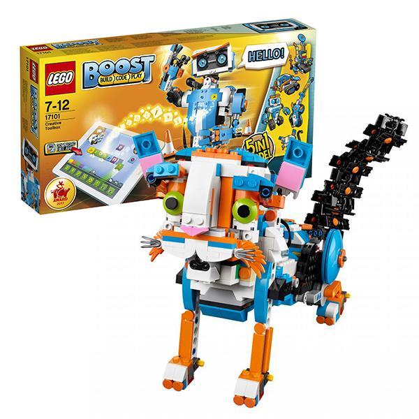 Конструктор LEGO Boost (арт. 17101) «Набор для конструирования и программирования»