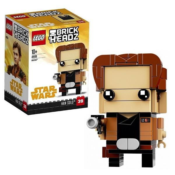 Конструктор LEGO Brickheadz (арт. 41608) «Хан Соло»
