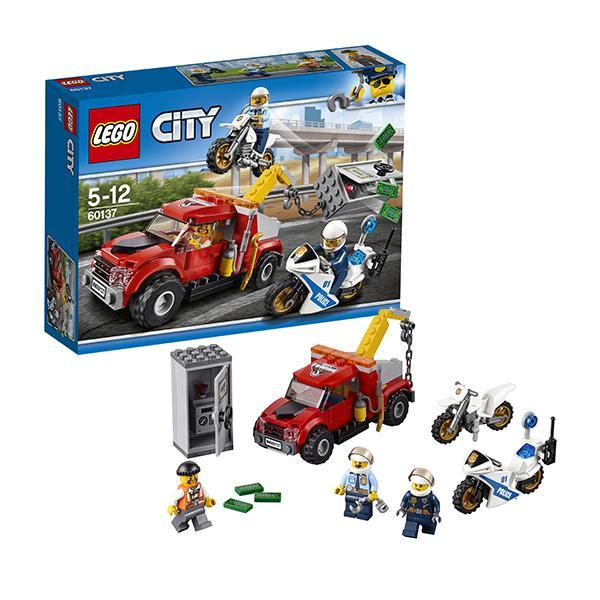 Конструктор LEGO City (арт. 60137) «Побег на буксировщике»