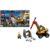 Конструктор LEGO City (арт. 60185) «Трактор для горных работ»