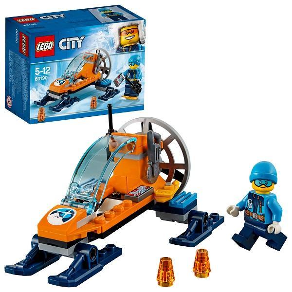 Конструктор LEGO City (арт. 60190) «Арктическая экспедиция: Аэросани»