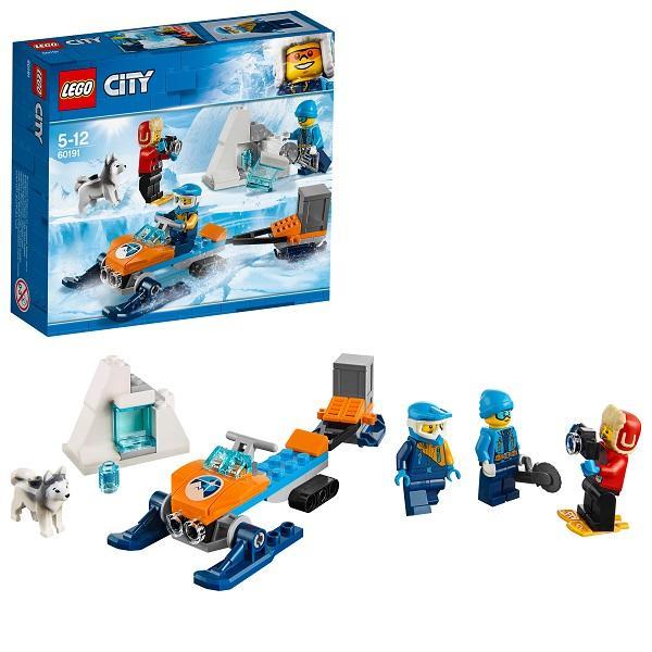 Конструктор LEGO City (арт. 60191) «Арктическая экспедиция: Полярные исследователи»