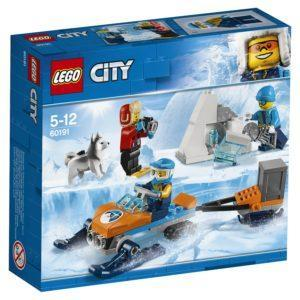 Конструктор LEGO City (арт. 60191) «Арктика: Полярные исследователи»