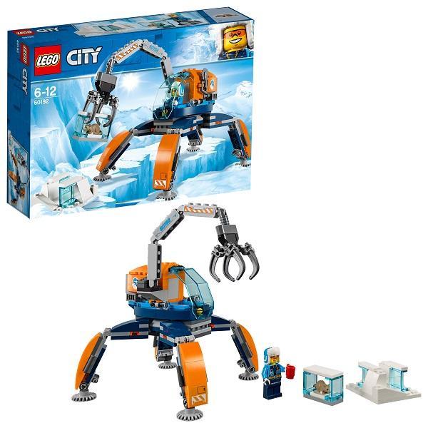 Конструктор LEGO City (арт. 60192) «Арктическая экспедиция: Арктический вездеход»