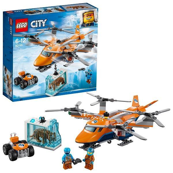 Конструктор LEGO City (арт. 60193) «Арктическая экспедиция: Арктический вертолёт»