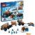 Конструктор LEGO City (арт. 60195) «Арктическая экспедиция: Передвижная арктическая база»