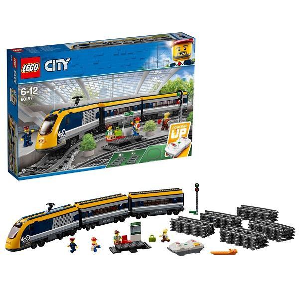 Конструктор LEGO City (арт. 60197) «Пассажирский поезд»