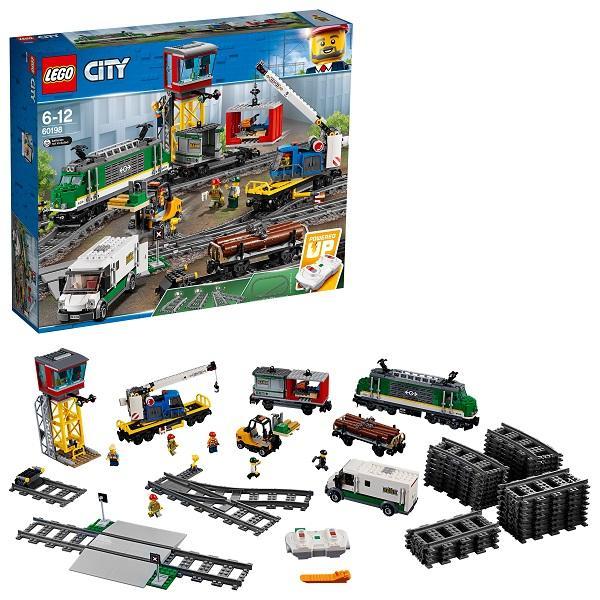 Конструктор LEGO City (арт. 60198) «Товарный поезд»