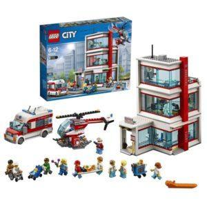 Конструктор LEGO City (арт. 60204) «Городская больница»
