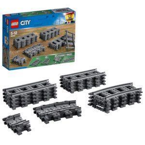 Конструктор LEGO City (арт. 60205) «Рельсы» (20 участков)