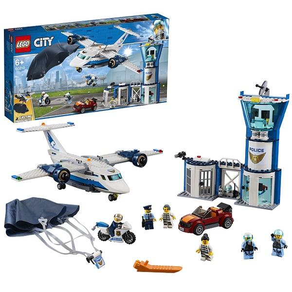 Конструктор LEGO City (арт. 60210) «Воздушная полиция: Авиабаза»