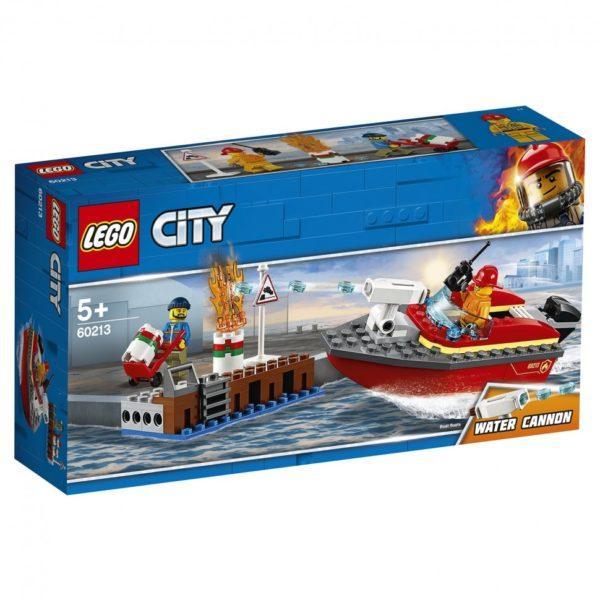 Конструктор LEGO City (арт. 60213) «Пожар в порту»