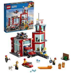 Конструктор LEGO City (арт. 60215) «Пожарные: Пожарное депо»