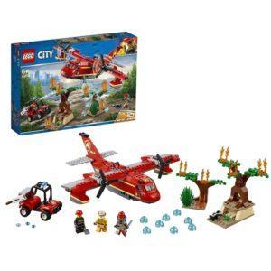 Конструктор LEGO City (арт. 60217) «Пожарный самолёт»
