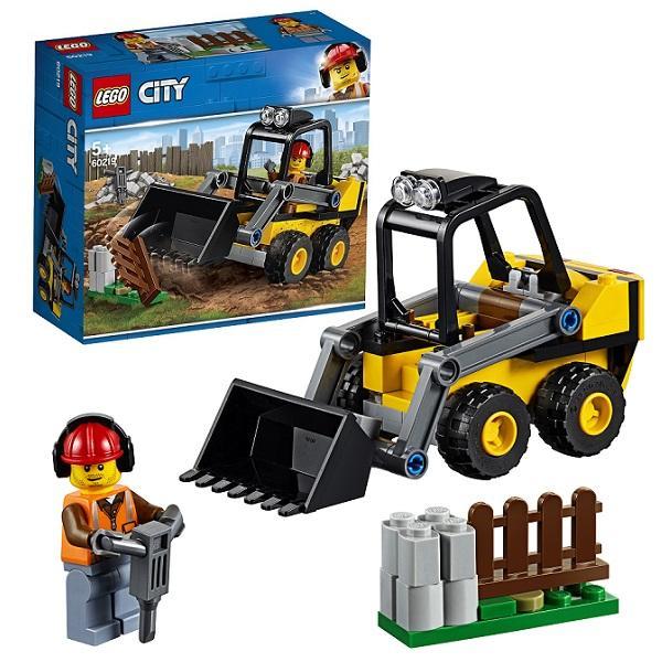 Конструктор LEGO City (арт. 60219) «Транспорт: Строительный погрузчик»