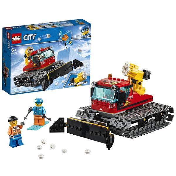 Конструктор LEGO City (арт. 60222) «Снегоуборочная машина»