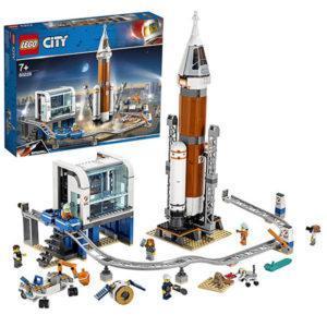 Конструктор LEGO City (арт. 60228) «Ракета для запуска в далёкий космос и пульт управления запуском»