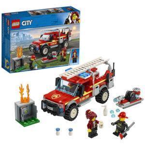 Конструктор LEGO City (арт. 60231) «Грузовик начальника пожарной охраны»