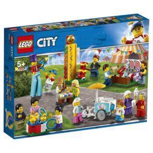 Конструктор LEGO City (арт. 60234) «Весёлая ярмарка» (комплект минифигурок)