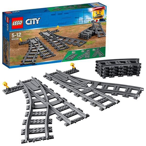 Конструктор LEGO City (арт. 60238) «Железнодорожные стрелки»