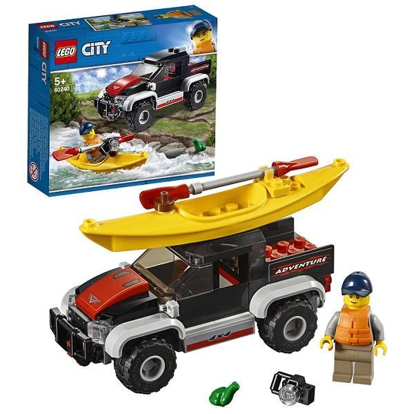 Конструктор LEGO City (арт. 60240) «Сплав на байдарке»