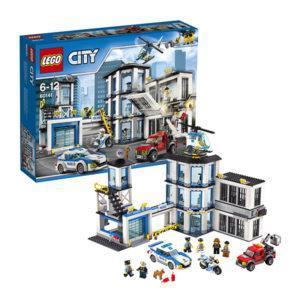 Конструктор LEGO City (арт. 60141) «Полицейский участок»