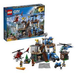 Конструктор LEGO City (арт. 60174) «Полицейский участок в горах»