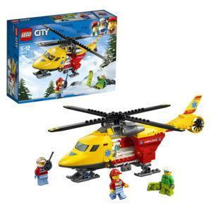 Конструктор LEGO City (арт. 60179) «Вертолёт скорой помощи»