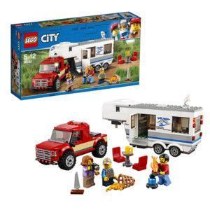 Конструктор LEGO City (арт. 60182) «Дом на колёсах»