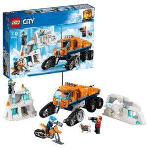 Конструктор LEGO City (арт. 60194) «Арктическая экспедиция: Грузовик ледовой разведки»