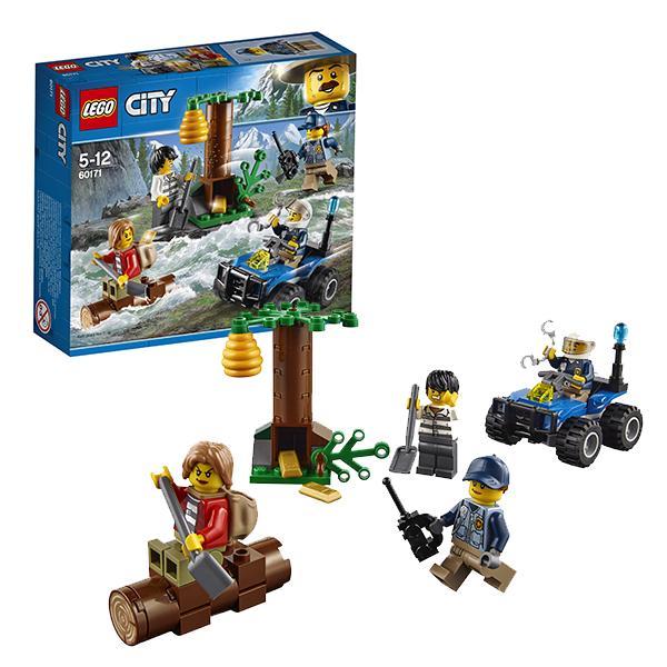 Конструктор LEGO City (арт.60171) «Убежище в горах»