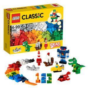 Конструктор LEGO Classic (арт. 10693) «Набор для творчества - яркие цвета»