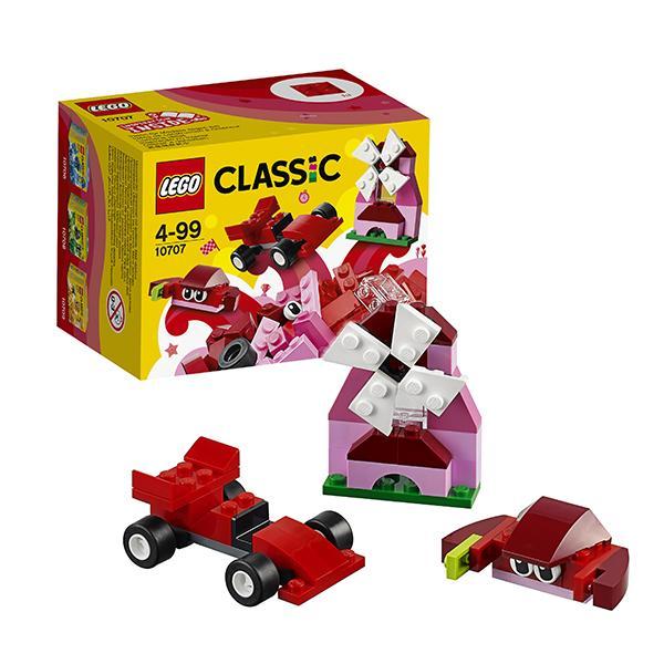 Конструктор LEGO Classic (арт. 10707) «Красный набор для творчества»