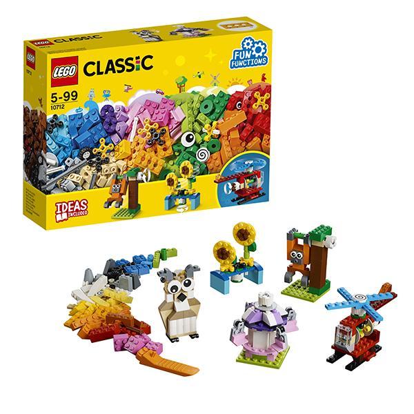 Конструктор LEGO Classic (арт. 10712) «Кубики и механизмы»