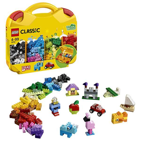 Конструктор LEGO Classic (арт. 10713) «Чемоданчик для творчества и конструирования»