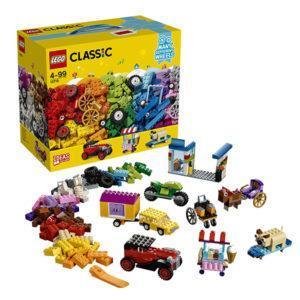 Конструктор LEGO Classic (арт. 10715) «Модели на колёсах»