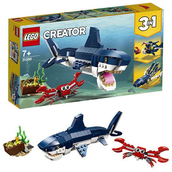 Конструктор LEGO Creator (арт. 31088) «Обитатели морских глубин»