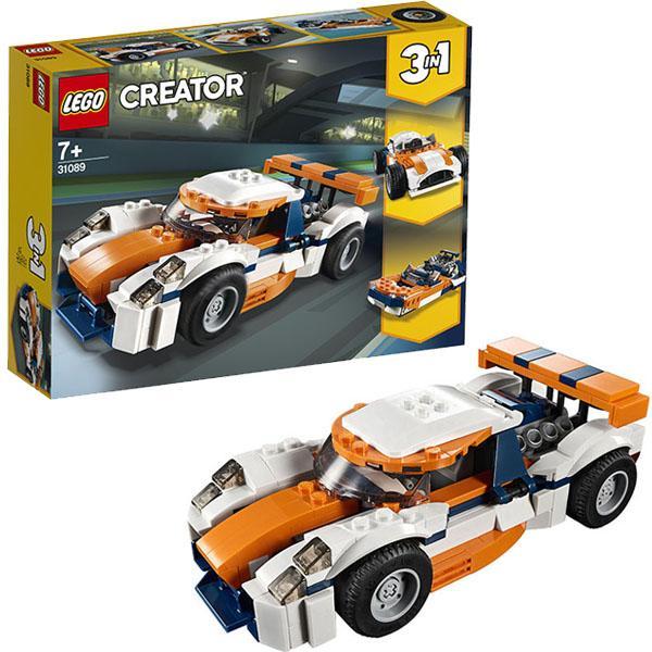Конструктор LEGO Creator (арт. 31089) «Оранжевый гоночный автомобиль»