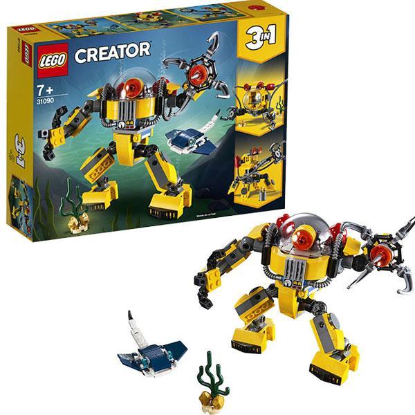 Конструктор LEGO Creator (арт. 31090) «Робот для подводных исследований»