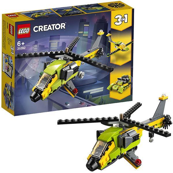 Конструктор LEGO Creator (арт. 31092) «Приключения на вертолёте»