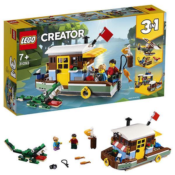 Конструктор LEGO Creator (арт. 31093) «Плавучий дом»