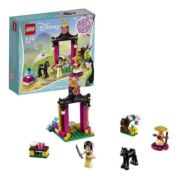 Конструктор LEGO Disney (арт. 41151) «Учебный день Мулан»