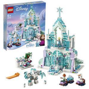 Конструктор LEGO Disney (арт. 43172) «Волшебный ледяной замок Эльзы»