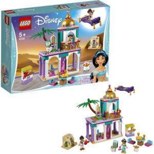 Конструктор LEGO Disney Princess (арт. 41161) «Приключения Аладдина и Жасмин во дворце»