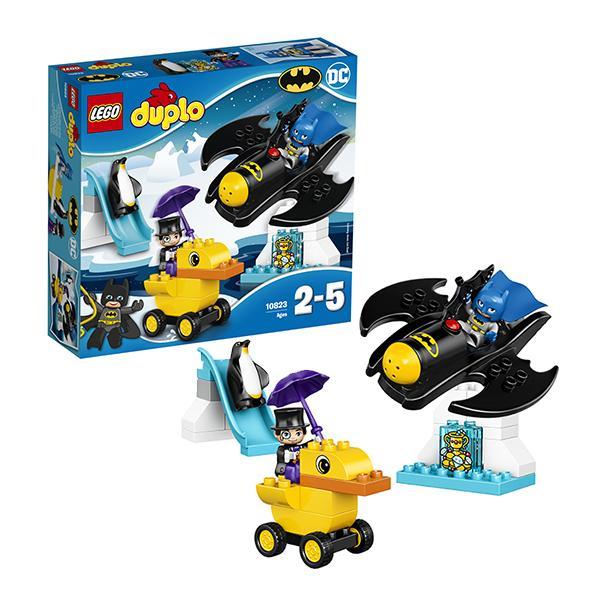 Конструктор LEGO Duplo (арт. 10823) «Приключения на Бэтмолёте»