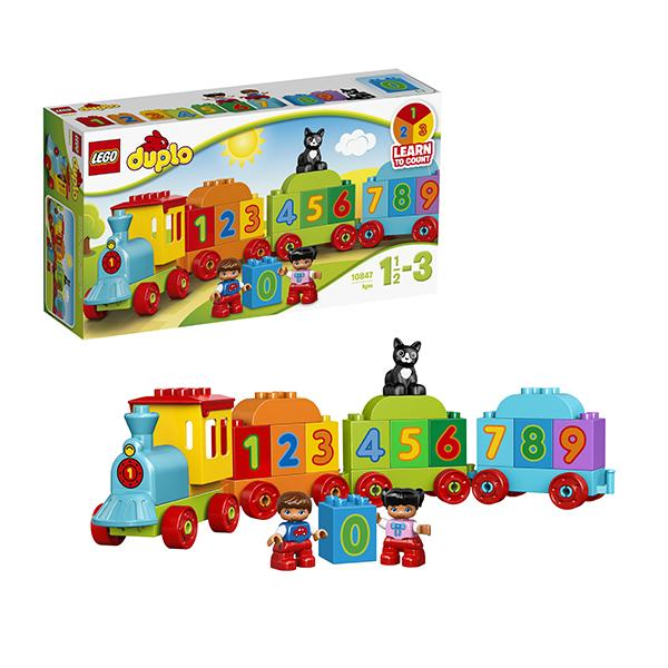 Конструктор LEGO Duplo (арт. 10847) «Считай и играй: Поезд»