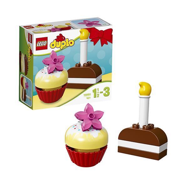 Конструктор LEGO Duplo (арт. 10850) «Мои первые пирожные»