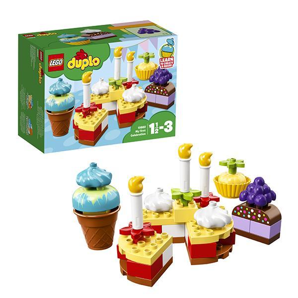 Конструктор LEGO Duplo (арт. 10862) «Мой первый праздник»